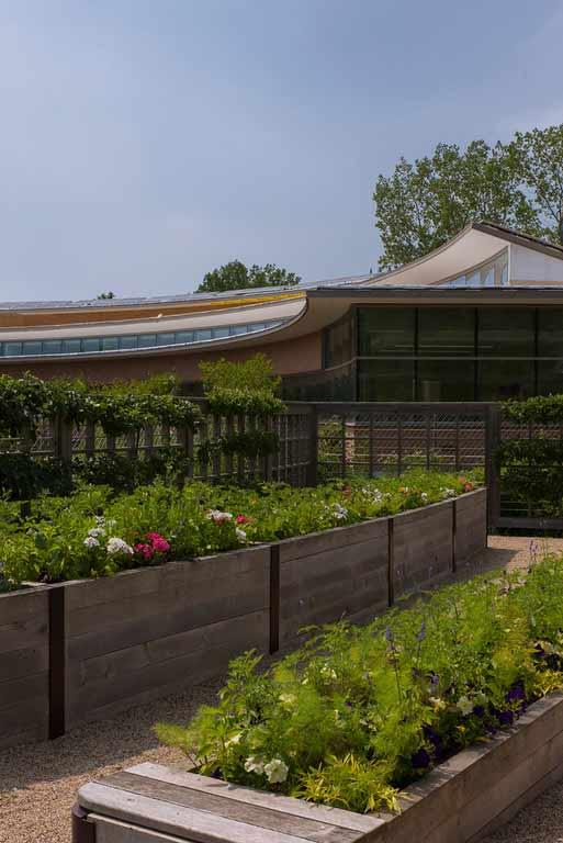 The new Regenstein Center at Chicago Botanic Garden