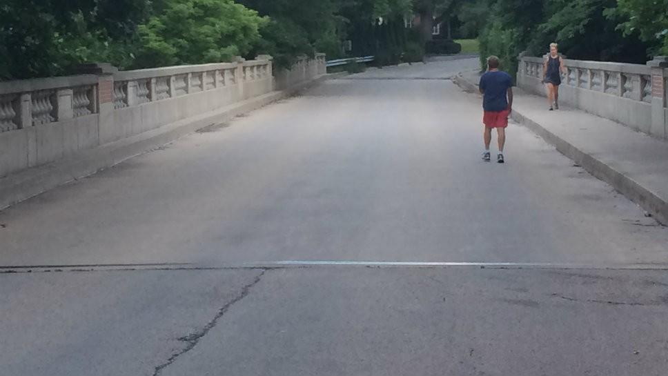 East LF Bridge Becomes One-Way August 1