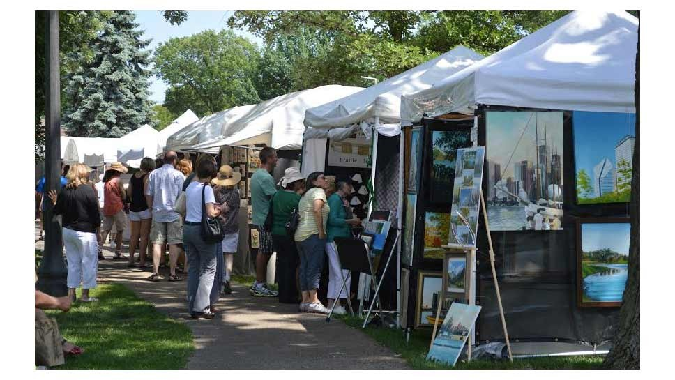 Northbrook Brings 75 Artists to Village Green