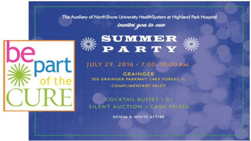 Cure Summer Party Friday