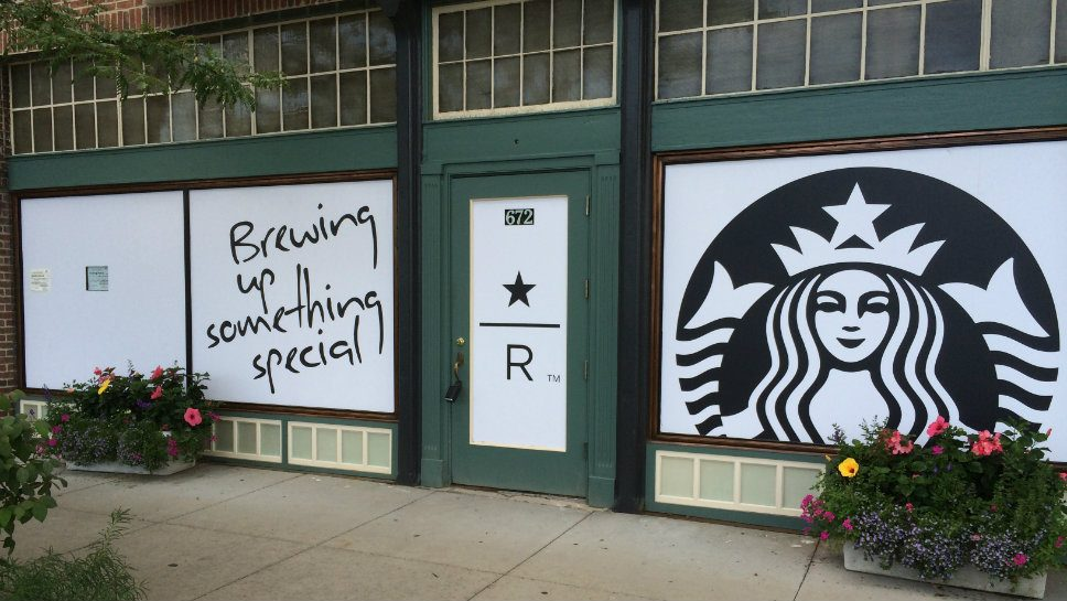 Starbucks will open at this Western Avenue location September 17.