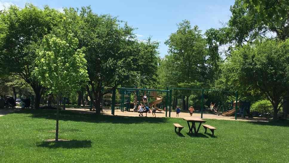 Dwyer Park in Winnetka.