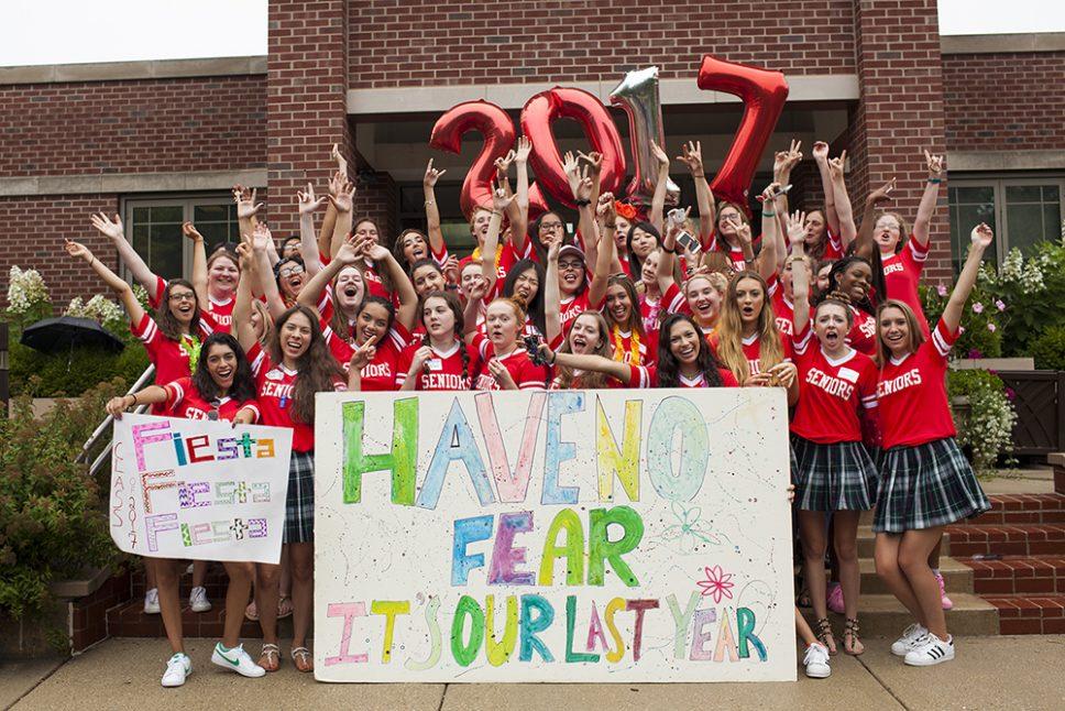 Woodlands Celebrates Seniors, Freshmen