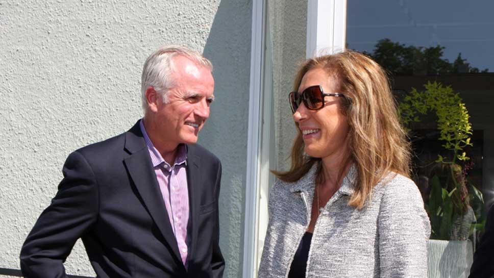 Fred Wacker and Cathi Kelsey