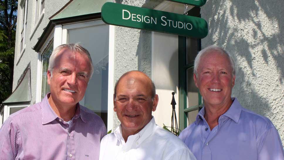 Fred Wacker, Frank Mariani Sr., Bob Kiely