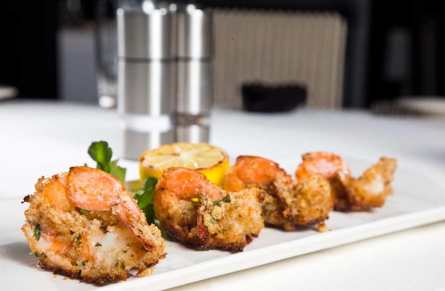 The Shrimp Alexander appetizer