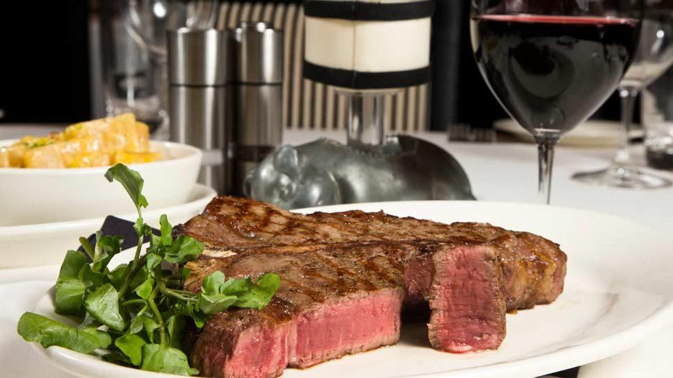 Morton's Serves Steak and More