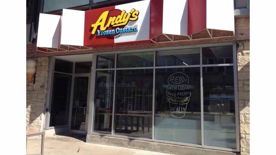 Score Free Treats at Andy's Frozen Custard