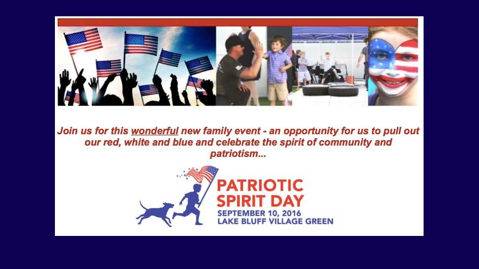 Lake Bluff Plans 'Patriotic Spirit …