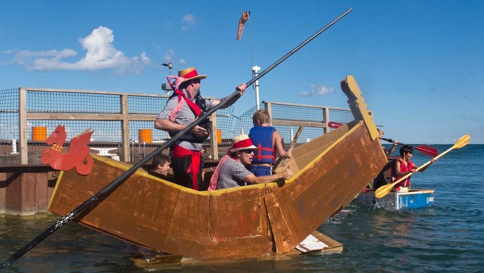 Crafty Sailors Vie For Regatta Bragging Rights