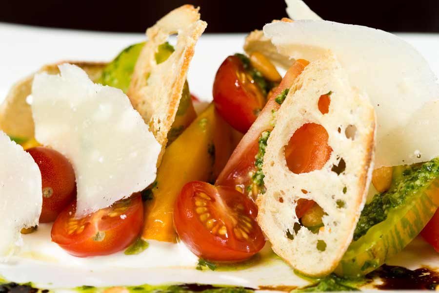 Heirloom Tomato Salad at Abigail's
