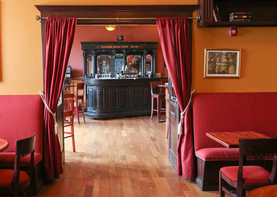The party rooms at Ginger's