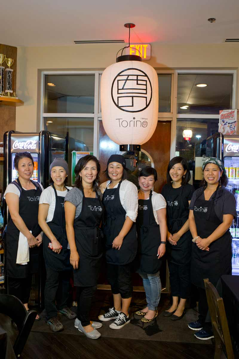 Owner Chikako Jo and her crew; photography by Joel Lerner/JWC Media