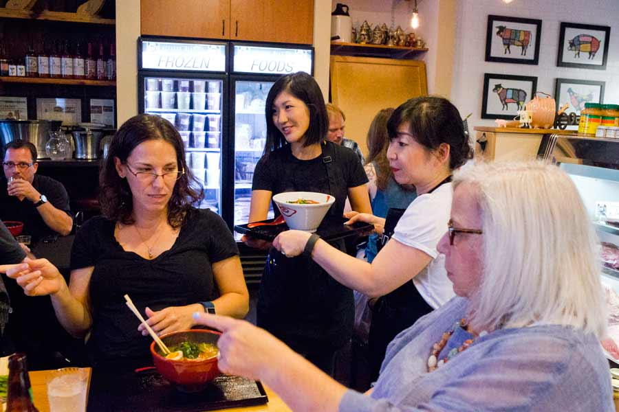 The Ramen is on the way at Torino's pop up Ramen Noodle