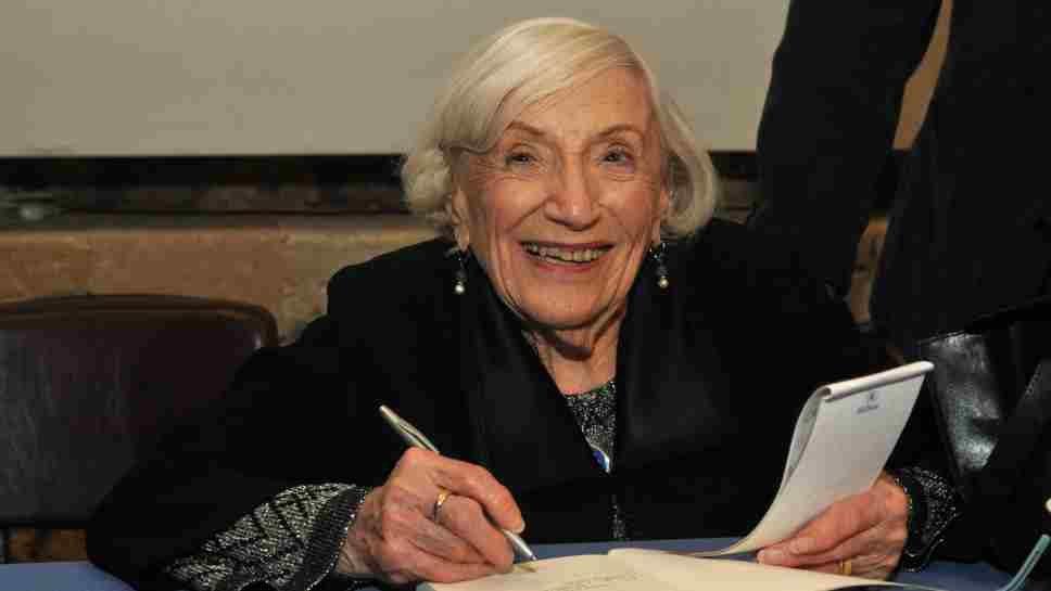 Marthe Cohn, former spy and Holocaust survivor.