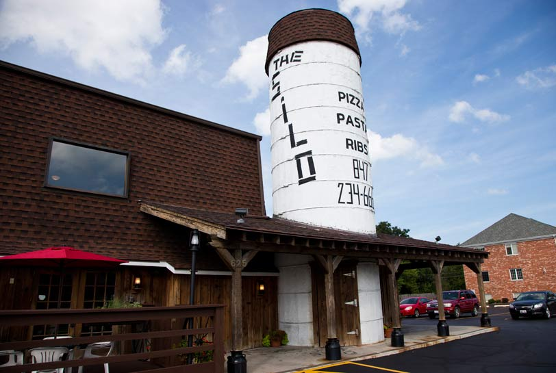 When you see The Silo, you know you're in Lake Bluff