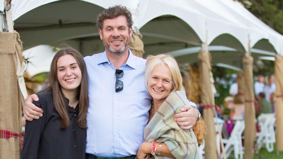 Flora, Mark & Emma Harris