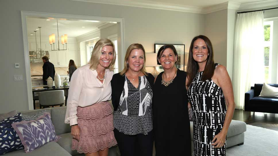 Heather Martin, Linda Campbell, Susan Riley, Tricia Albian