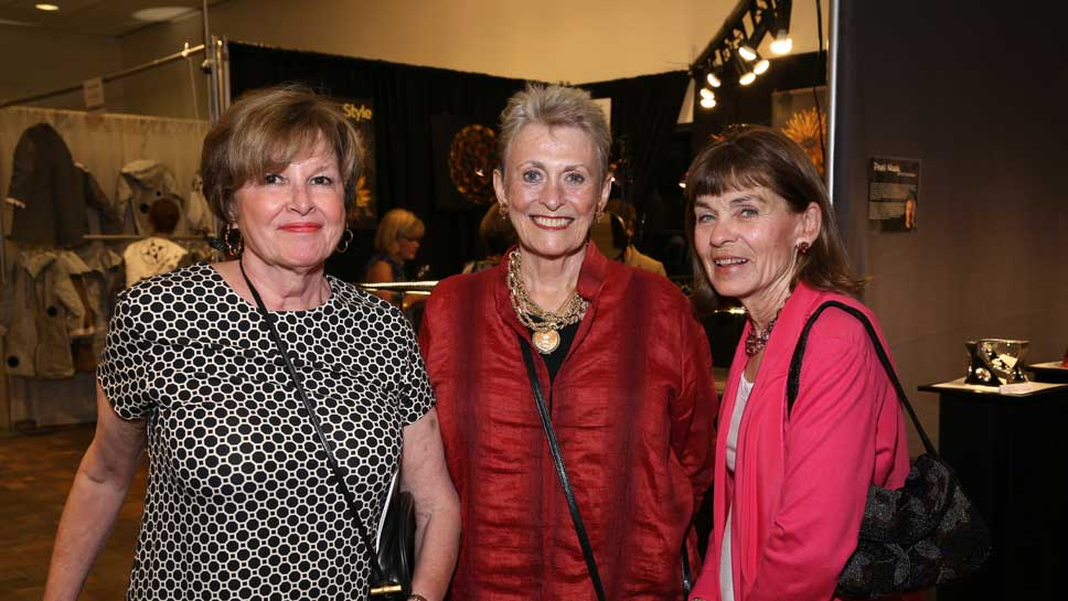 Barbara Baughman, Barbara Balsley, Dana Fitzsimons