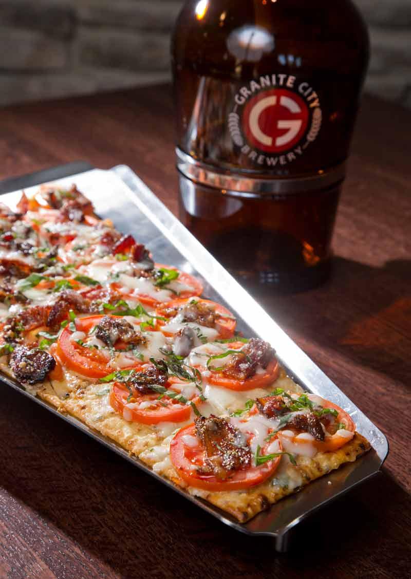 Maple Pepper Bacon pizza