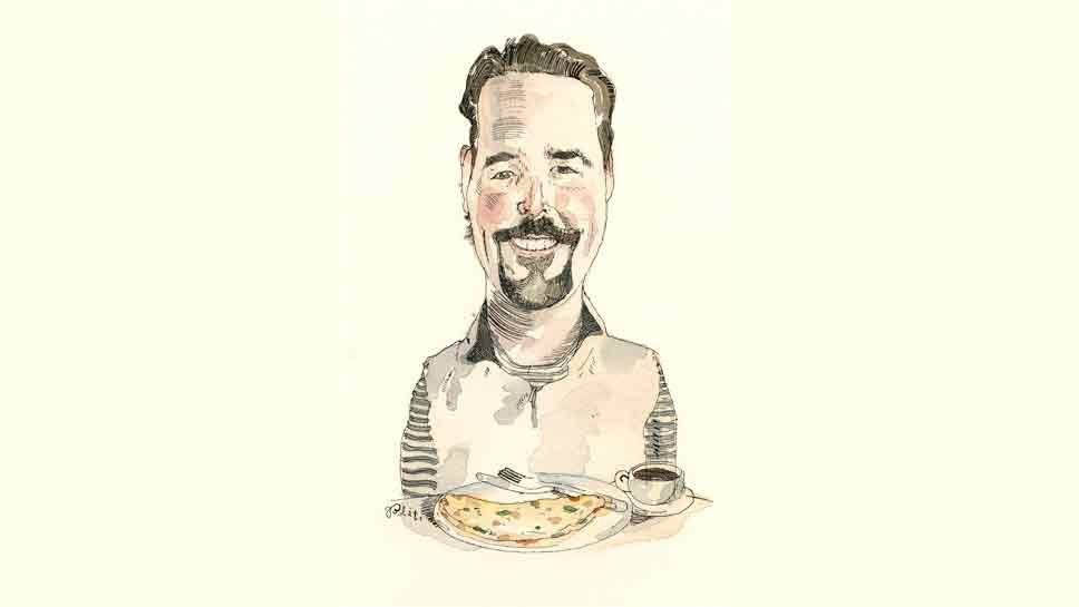 Sunday Breakfast with Patrick Mannelly