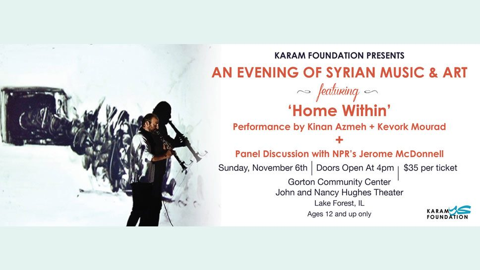An Evening of Syrian Music + Discussion