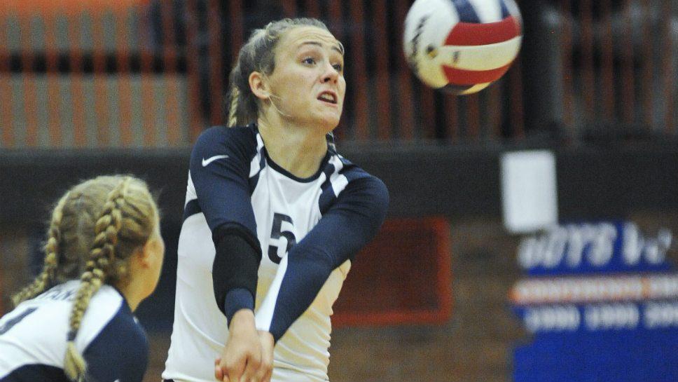 Volleys: GBS's Wojick garners POY honors