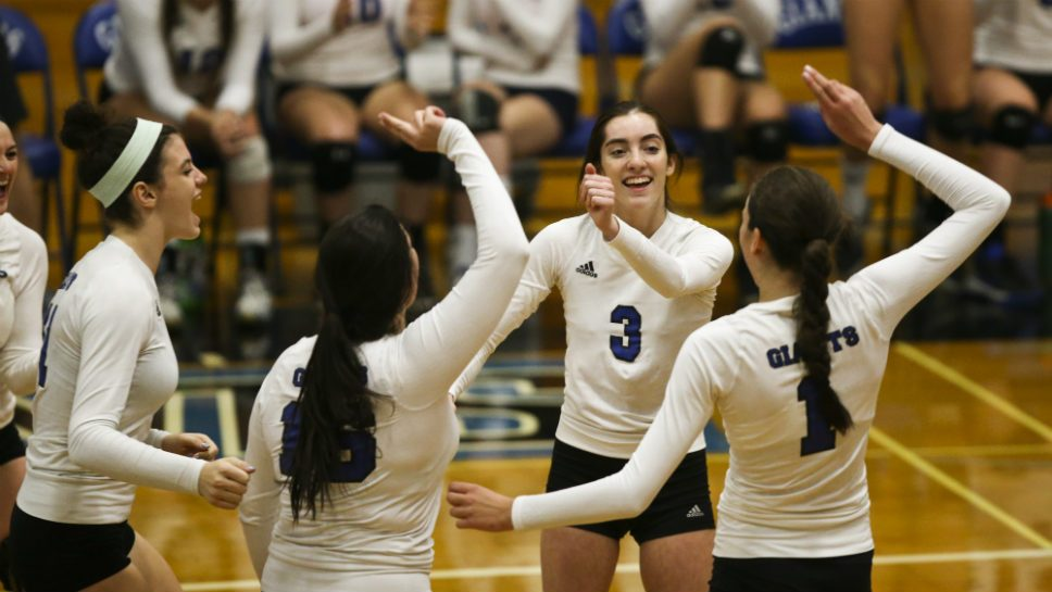 Volleys: Three Giants claim all-league honors