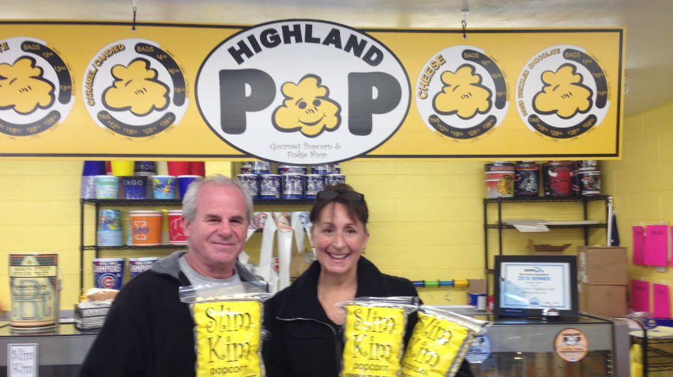 Kimberly Silvestri Cohen and Lyle Cohen at Highland Pop.