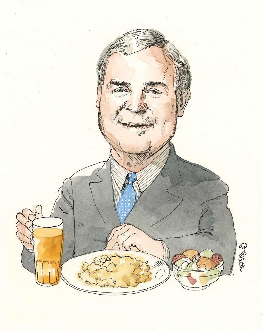 Peter McNitt; illustration by Barry Blitt
