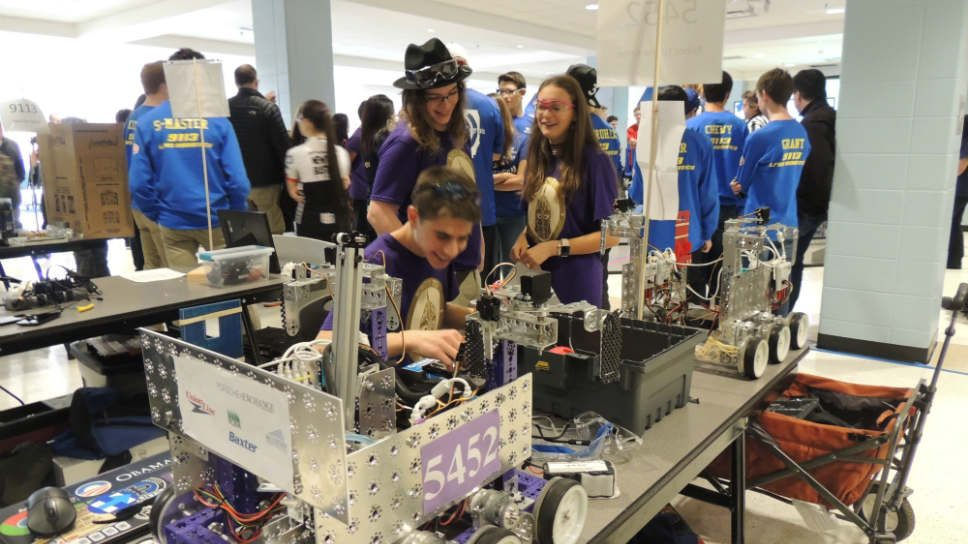 Giving HPHS Robotics A Sporting Chance