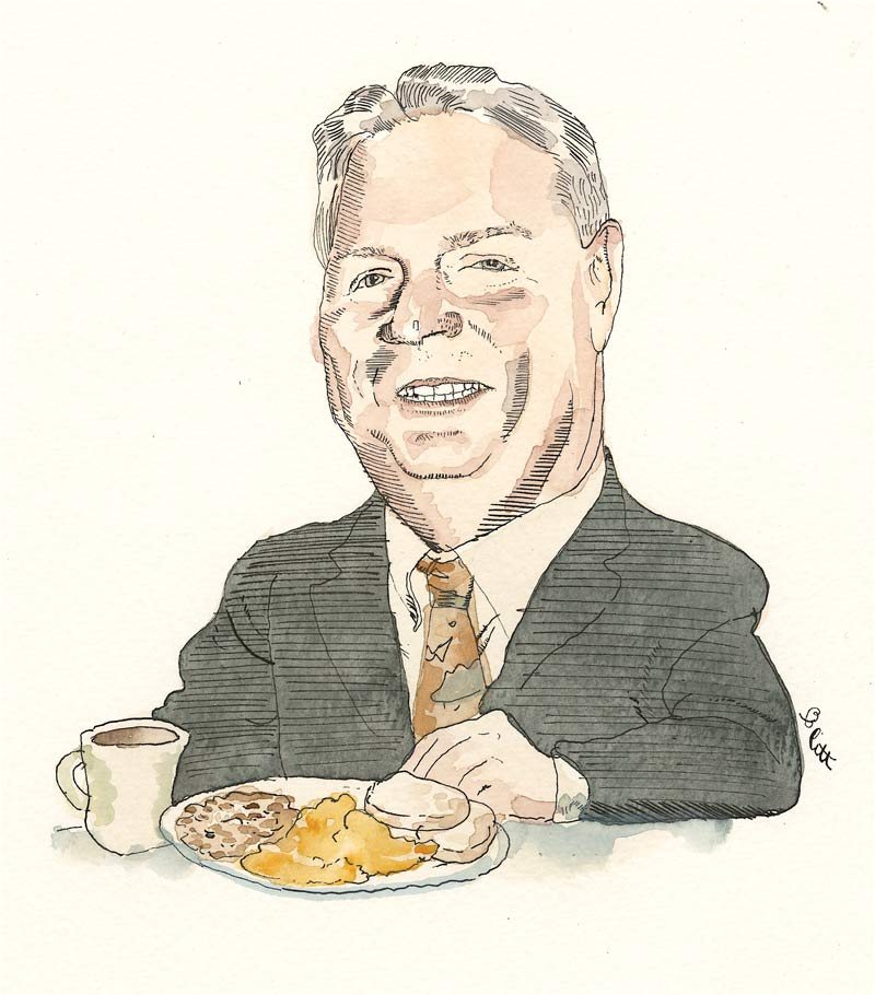 Tim McCabe. Illustration by Barry Blitt
