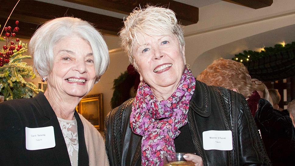 Carol Benway and Maureen O'Farrell