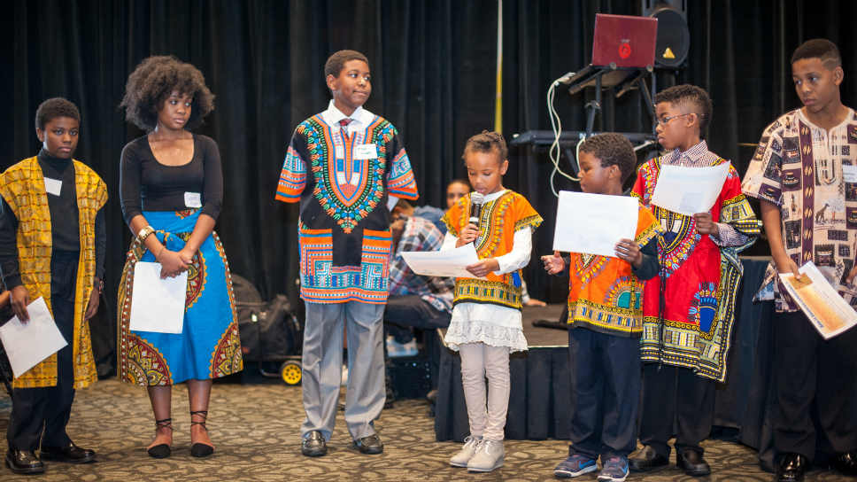 Children of all ages participated in the Kwanzaa celebration. PHOTOGRAPHY COURTESY OF JACK AND JILL - NORTH SHORE CHAPTER