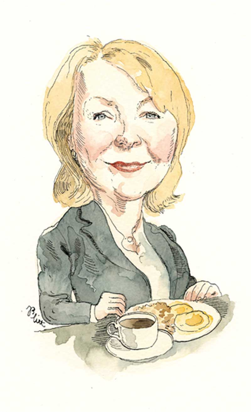 Dr. Linda Liang. Illustration by Barry Blitt