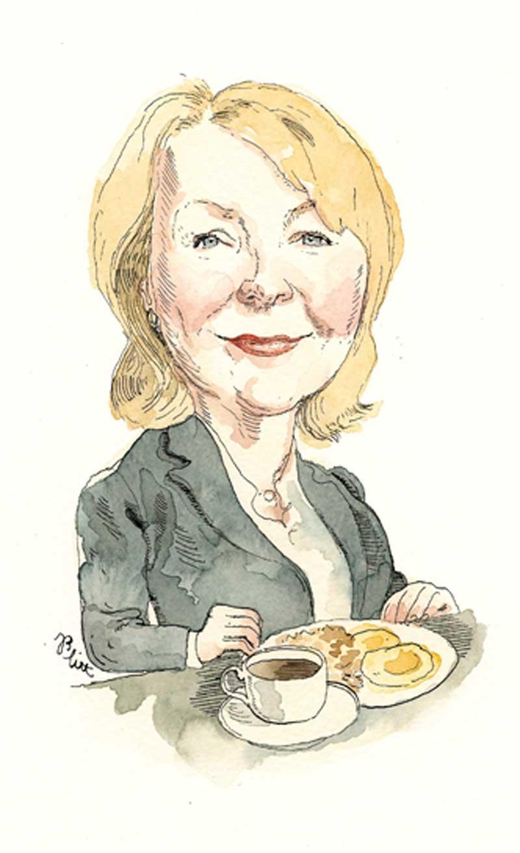 Dr. Linda Liang. Illustration by Barry Blitt