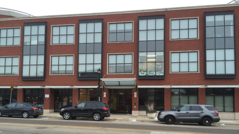 Jigar K. Patel worked on the third floor of this downtown Northbrook office building.