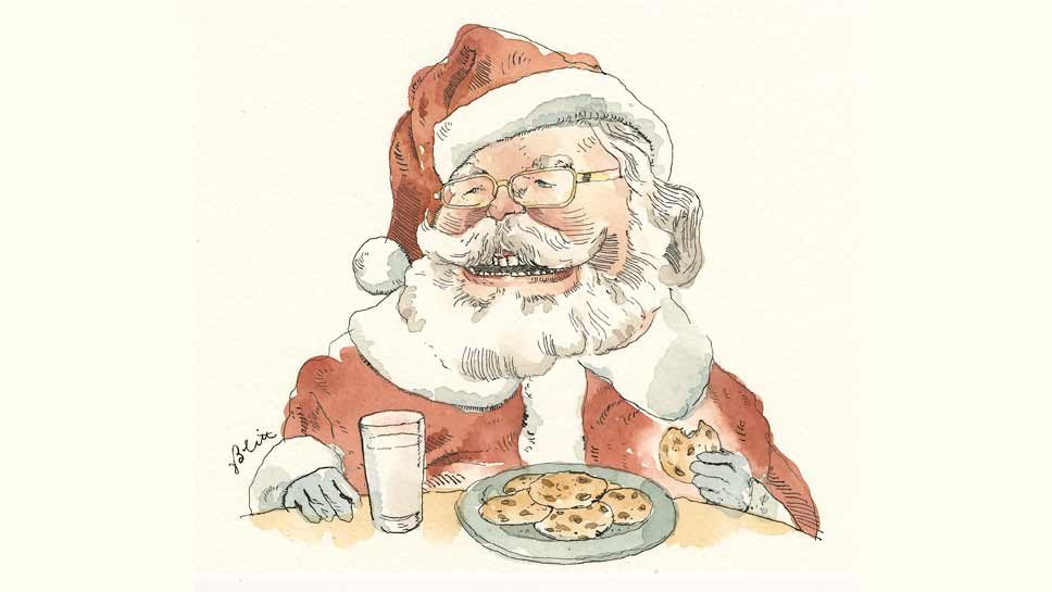 Sunday Breakfast: Forever Young Around Santa