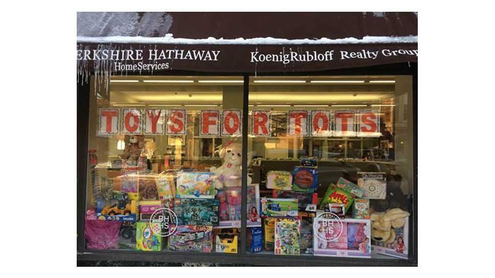 KoenigRubloff Toy Drive Fills Santa's Bags