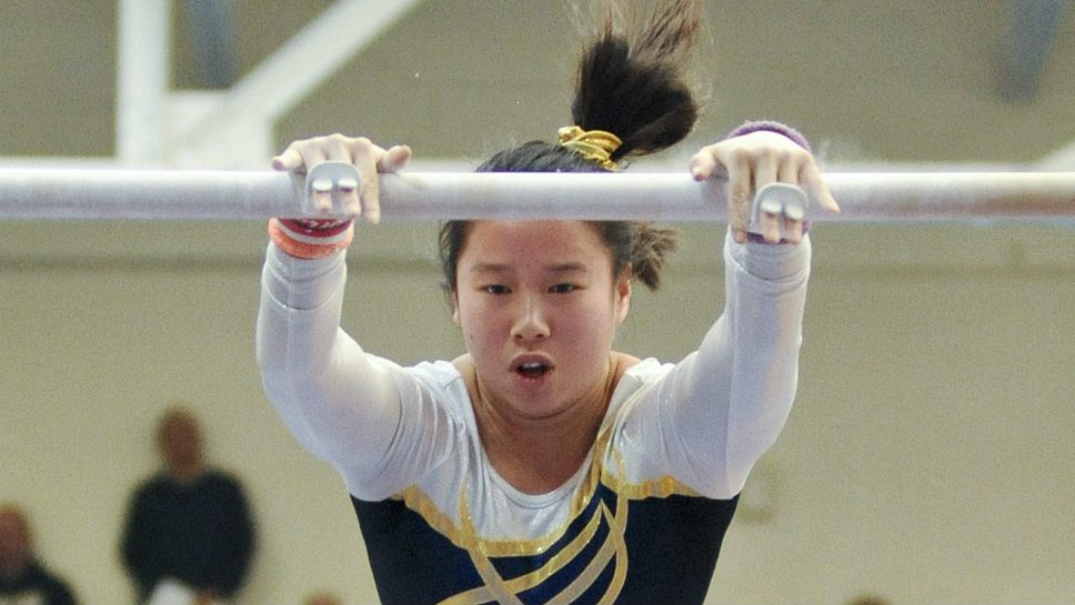 Gymnastics has a hold on GBS's Kruger