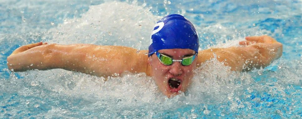 And beat goes on for HP swim team