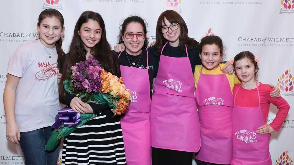 Challah and 'Talent' at Chabad