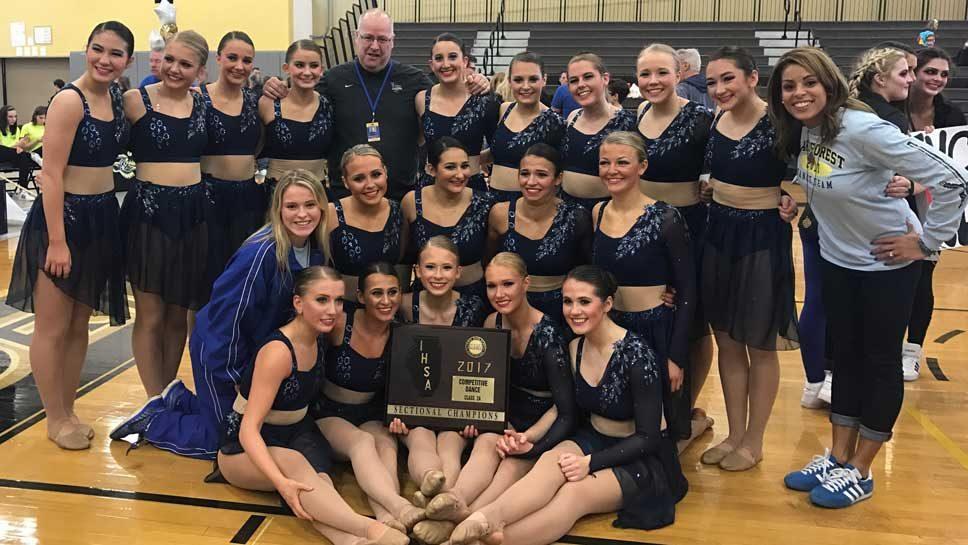 LFHS dance team wins sectional title