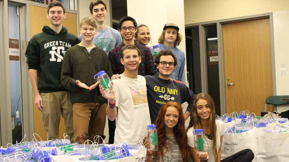 Club Drives New Trier Green Movement