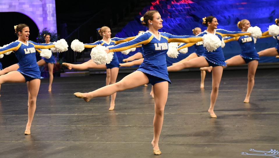 LFHS Dance Team Shows Devotion