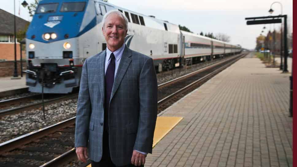 Lake Forest Presses for Amtrak Answers
