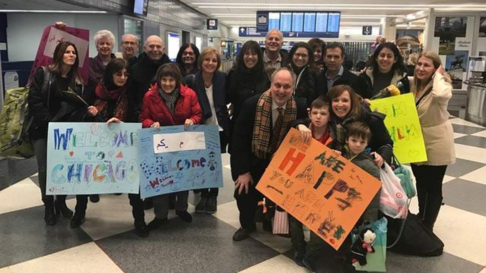 Safe Landing: Synagogue Refugee Families