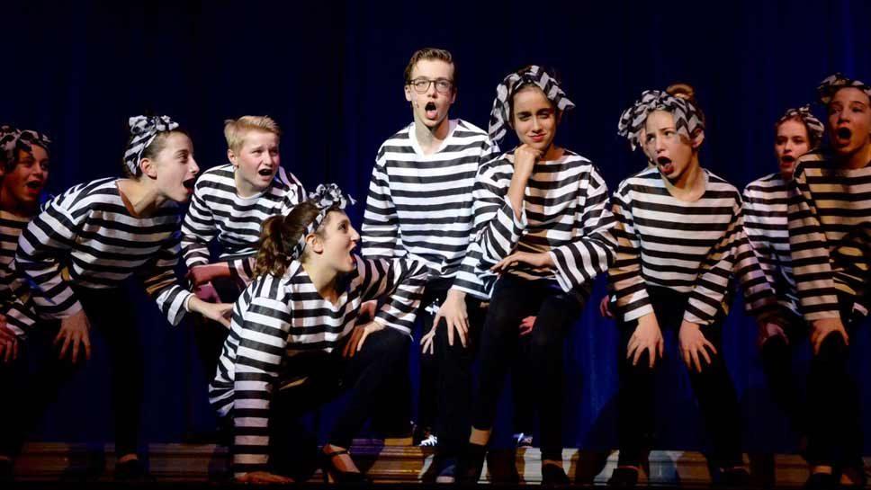Glencoe Students 'All Shook Up'
