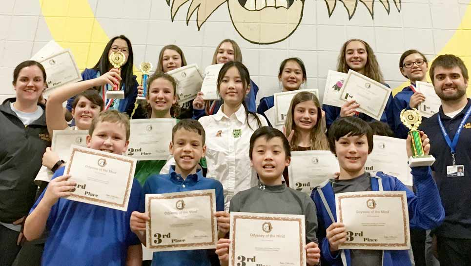 LBMS Rocks 'Odyssey of the Mind'