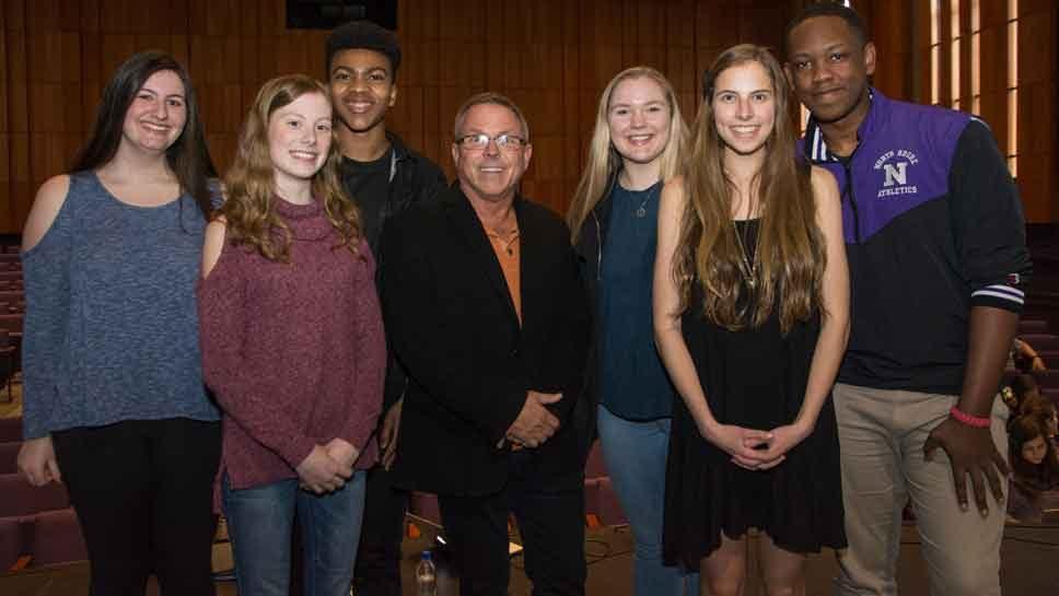 North Shore Students Meet Chenoweth